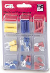 Gardner Bender TK-40 Crimp-On Terminal Connector Assortment, Insulated, 40-Pc.