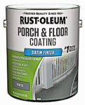 Rust-Oleum 244055 Porch & Floor Finish, 1-Gallon, Satin Pewter