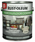 Rust-Oleum 244057 Porch & Floor Finish, 1-Gallon, Semi-Gloss Dove Gray
