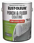 Rust-Oleum 244058 Porch & Floor Urethane Finish, Semi-Gloss Pewter, 1-Gal.