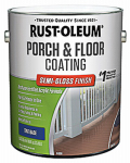 Rust-Oleum 244059 Tintable Porch & Floor Finish, 1-Gallon, Semi-Gloss