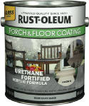 Rust-Oleum 244847 Porch & Floor Finish, 1-Gallon, Gloss Dove Gray