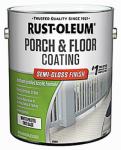 Rust-Oleum 248169 Tint Base Porch & Floor Finish, 1-Gallon, Semi-Gloss White/Pastel