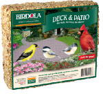 United Pet Group 54496 2.1-Lb. Deck/Patio Bird Cake