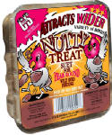 C & S Products 12559 Suet Cake, Nutty Treat, 11.75-oz.