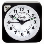 La Crosse Technology 20078 Travel Alarm Clock, Quartz Movement, Black