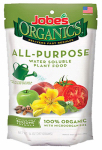 Easy Gardener 06528 Organic All-Purpose Fertilizer Spikes, 4-4-4, 50-Pk.