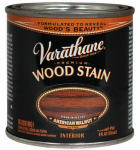 Rust-Oleum 211804 Varathane 1/2-Pt. American Walnut Premium Oil-Based Interior Wood Stain