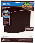 Ali Industries 4447 Sandpaper, Emery Cloth, Assorted Grit, 3-Pk.