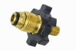 Mr Heater F273655 Propane Fitting, 1/4-In. Male Pipe Thread x Excess Flow Soft Nose P.O.L.