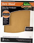 Ali Industries 4465 5-Pack 9 x 11-Inch 220-Grit Sandpaper