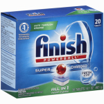 Reckitt Benckiser 5170077050 Electrasol Automatic Dishwasher Tabs With Powerball,  20-Ct.