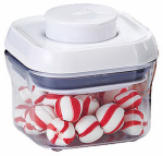 Oxo International 1106040 Small Food Storage Container, 0.3-Qt.