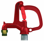 Eagle Mountain Products R34-4 Woodford Yard Hydrant, Freezeless, 3/4-In. Male Hose x 4-Ft. Bury Depth