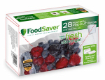 Sunbeam Products FSFSBF0116-NP Tilia Pint Foodsaver Bags, 28-count