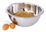 Bradshaw International 11629 3-Qt. Extra-Deep Stainless-Steel Mixing Bowl