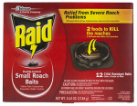S C Johnson Wax 15745 Roach Bait Plus Egg Stop, 12-Pk.