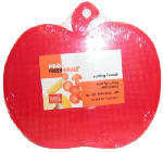 Bradshaw International 72038 Mini Fruit Shaped Cutting Board, Assorted