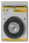 Disston 842804 4-Inch Coarse Crimped Wire Wheel