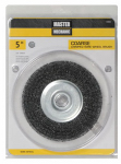 Disston 842826 5-Inch Coarse Crimped Wire Wheel