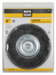 Disston 842867 6-Inch Coarse Crimped Wire Wheel