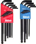 Eklind Tool 13222 22-Piece Combination Ball Key Set