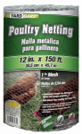 Midwest Air Tech/Import 308418B 12-In. x 150-Ft. Galvanized Poultry Netting