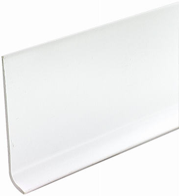 75507 MD 4 x 120 Snow White Vinyl Cove Wall Base