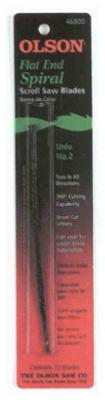 Olson Saw SP46800 Scroll Saw Blades, 12-Pk., 5-In., 41-TPI -