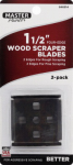 Allway Tool 22B 1-1/2-In. 4-Edge Scraper  Blades, 2-Pk.