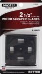 Allway Tool 42B 2-1/2-In. 4-Edge Scraper Blades, 2-Pk.