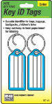 Hy-Ko Prod KC141 Key I.D. Tag, Wire Ring, 2-Pk.