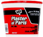 Dap 10310 Plaster Of Paris, White, 8-Lb. Pail