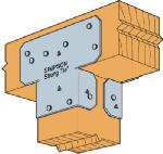 Simpson Strong Tie AC4-WEST AC4 4x4 Twin Post Cap - 20 Pack