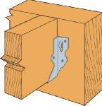 Simpson Strong Tie LU24 Joist Hanger, 2 x 4-In.