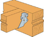 Simpson Strong Tie LUS24 Joist Hanger, Double Shear, 2 x 4-In.