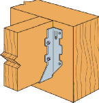 Simpson Strong Tie LUS26 Joist Hanger, Double Shear, 2 x 6-In.