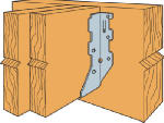 Simpson Strong Tie LUS28-2 Joist Hanger, Double Shear, 2 x 8-In.