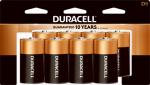 "Duracell Distributing Nc MN13R8DWZ17 Alkaline Batteries, ""D"", 8-Pk."