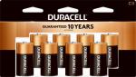 "Duracell Distributing Nc MN14R8DWZ17 Alkaline Batteries, ""C"", 8-Pk."