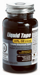 Gardner Bender LTB-400 Liquid Electrical Tape, Black, Waterproof, 4-oz.