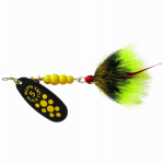 Big Rock Sports 0135-0480 Spinner Lure, Black Fury