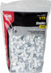 Gardner Bender PS-175BG 3/4-In. Plastic Non-Metallic Cable Staples, 175-Pack