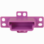 Prime Line Products 22844 White Polyethelene Mounting Bracket