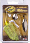 Maurice Sporting Goods 116 Spinner Bait, Chartreuse & White, 3/8-oz.