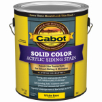 Cabot/Valspar 0801-07 1-Gallon White Base Acrylic Stain