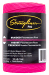 Us Tape 35462 500-Ft. Braided Fluorescent Pink Nylon Construction Line
