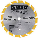Dewalt Accessories DW9055 5-3/8-Inch 16-TPI Carbide Cordless Saw Blade
