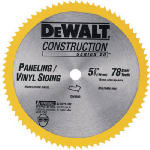 Dewalt Accessories DW9053 5-3/8-In. 78-TPI Cordless Saw Blade