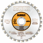 Dewalt Accessories DW9052 Carbide Non-Ferrous Metal-Cutting Cordless Saw Blade, 5-3/8-In., 30-Teeth
